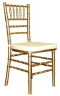 Where to rent CHAIR, CHIAVARI  GOLD in Fairfield TX