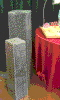Where to rent COLUMN, 34  FAUX GRANITE PAIR in Fairfield TX