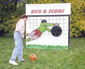 Where to find GAME, FRAME KICK SCORE SOCCER in Fairfield