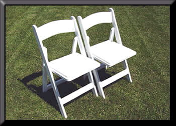 Where to find CHAIR, GARDEN   WHITE in Fairfield