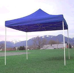 Where to find TENT, 10X10 EZ UP  BLUE in Fairfield