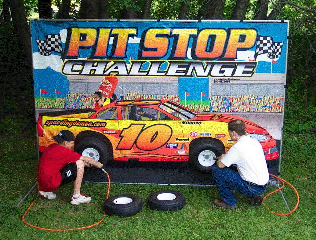 Where to find GAME, PIT-STOP CHALLENGE in Fairfield