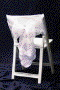 Where to rent CHAIR CAP, VINTAGE VINE WHITE in Fairfield TX