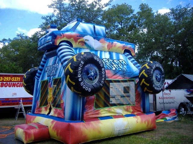 Where to find INFLATABLE, MONSTER TRUCK in Fairfield