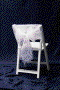 Where to rent CHAIR CAP, FLORALACE WHITE in Fairfield TX