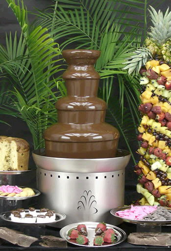 Where to find FOUNTAIN, CHOCOLATE   SMALL in Fairfield