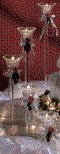 Where to rent CANDLE PILLARS 18  TALL in Fairfield TX