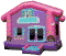 Where to rent INFLATABLE, PRINCESS DOLLHOUSE in Fairfield TX
